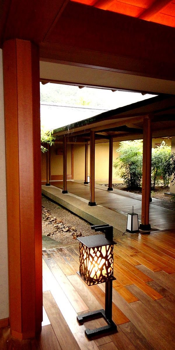 Outdoor, Wood Patio, Porch, Deck, and Trees  Bettei Otozure