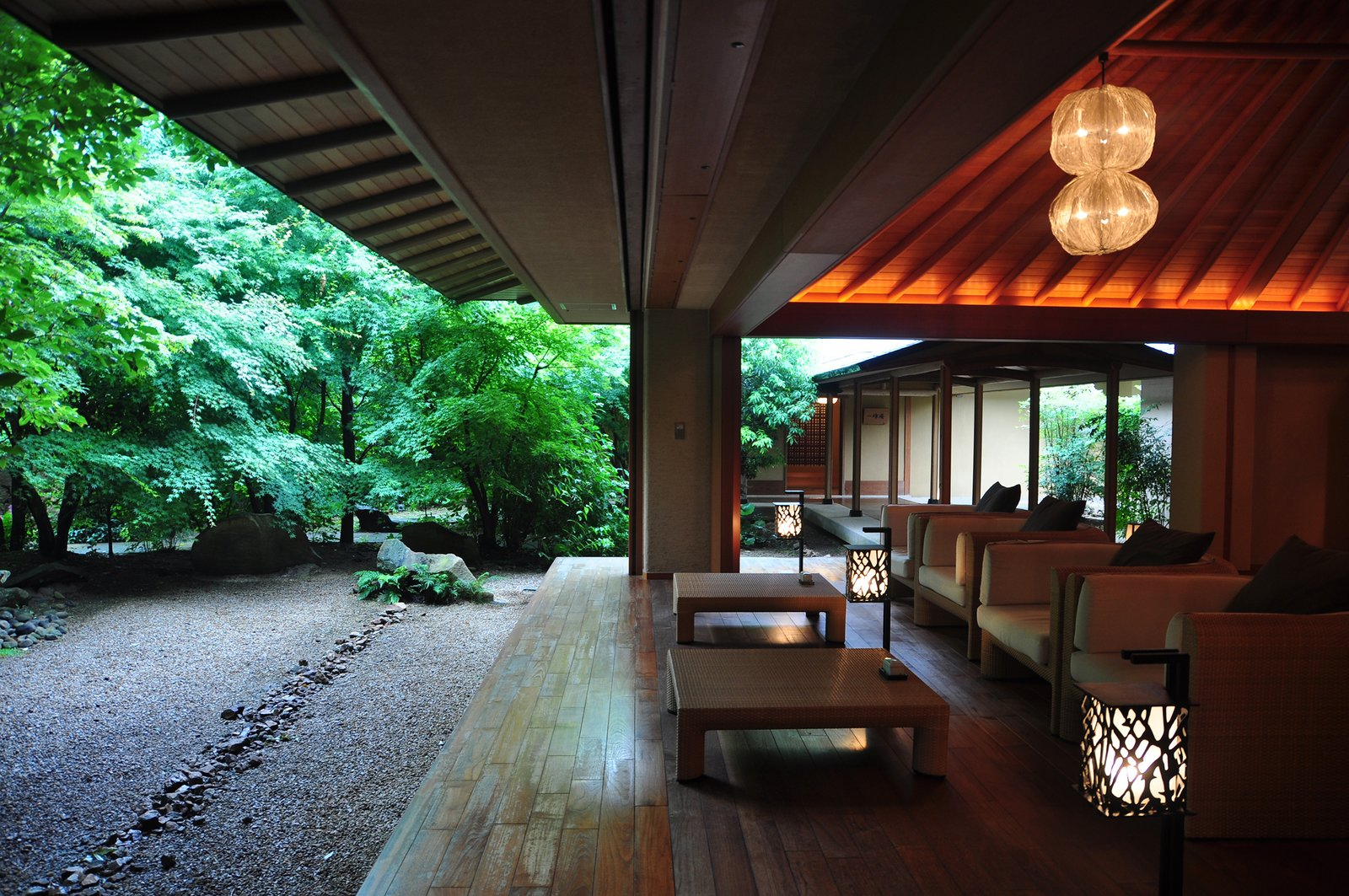 Outdoor, Trees, and Wood Patio, Porch, Deck  Bettei Otozure