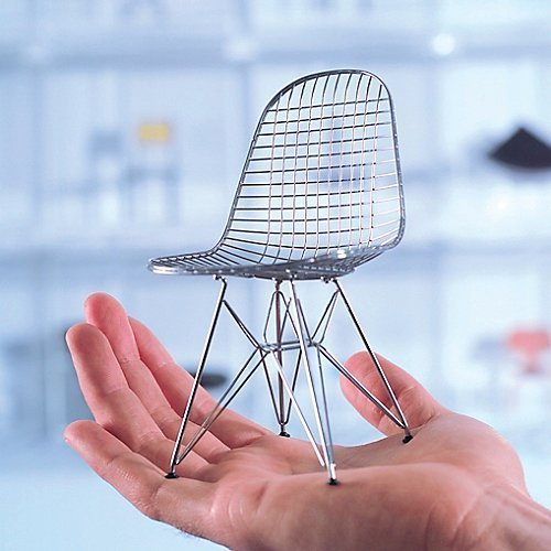 Vitra Miniature Eames DKR Wire Chair