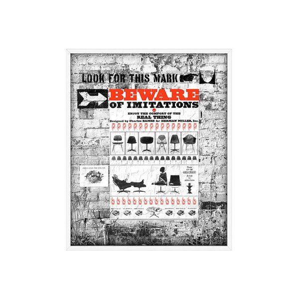 Herman Miller Beware of Imitations Poster