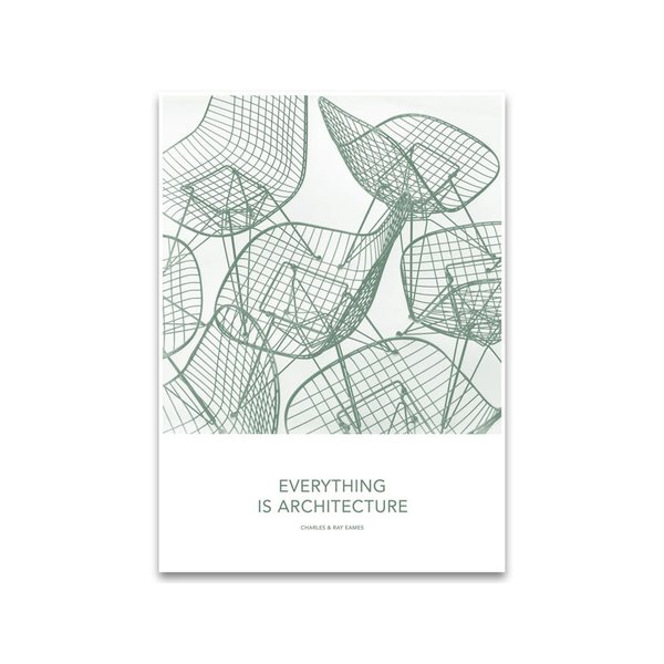Vitra Eames Quotes Poster - Architecture