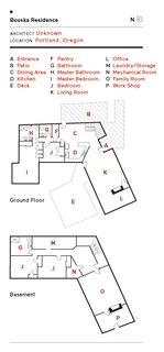Bouska Residence floor plan