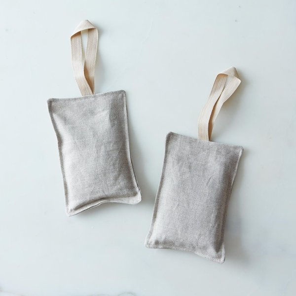 Dot and Army Organic Lavender Linen Sachets (Set of 2)