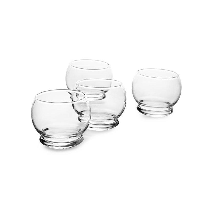 Normann Copenhagen Rocking Glass Set of 4