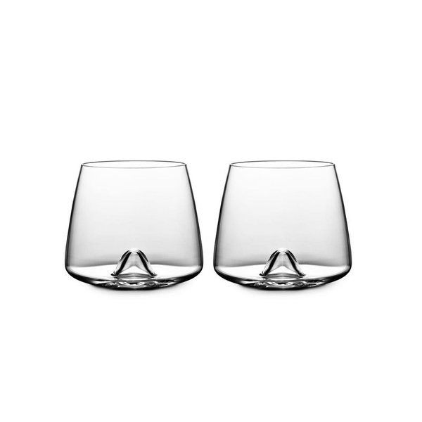 Normann Copenhagen Rikke Hagen's Whiskey Glass, Set of 2