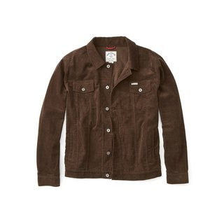 Iron and Resin Rambler Jacket in Chocolate Cord