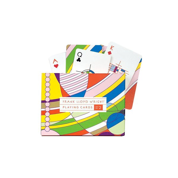 Frank Lloyd Wright Playing Cards (Set of 2)