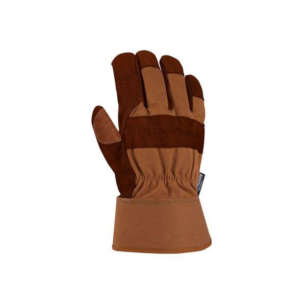 Carhartt Insulated Bison Leather Work Glove - Safety Cuff