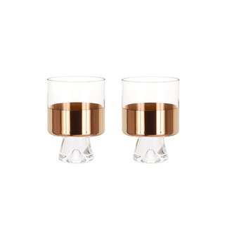 Tom Dixon Tank Low Ball Glasses, Set of 2