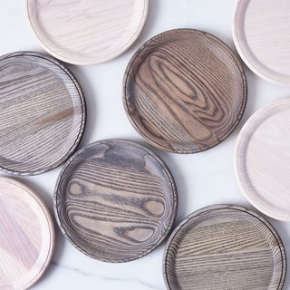 Farmhouse Pottery Crafted Wooden Plates