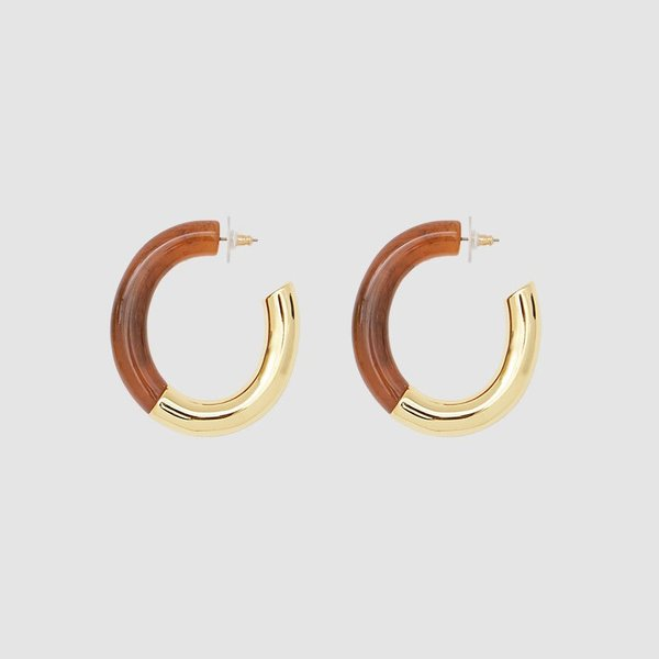 Lizzie Fortunato Summer of Love Hoop Earrings
