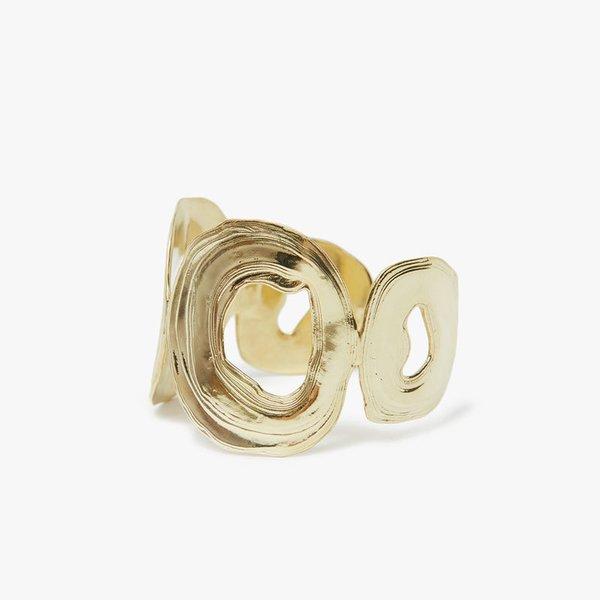 Leigh Miller Brass Amphitrite Bracelet