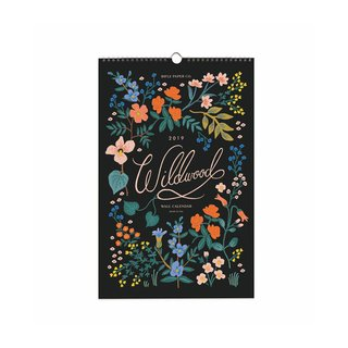 Rifle Paper Co. 2019 Wildwood Wall Calendar