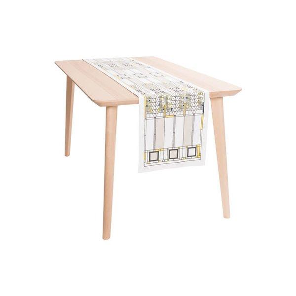 Frank Lloyd Wright Tree of Life Table Runner