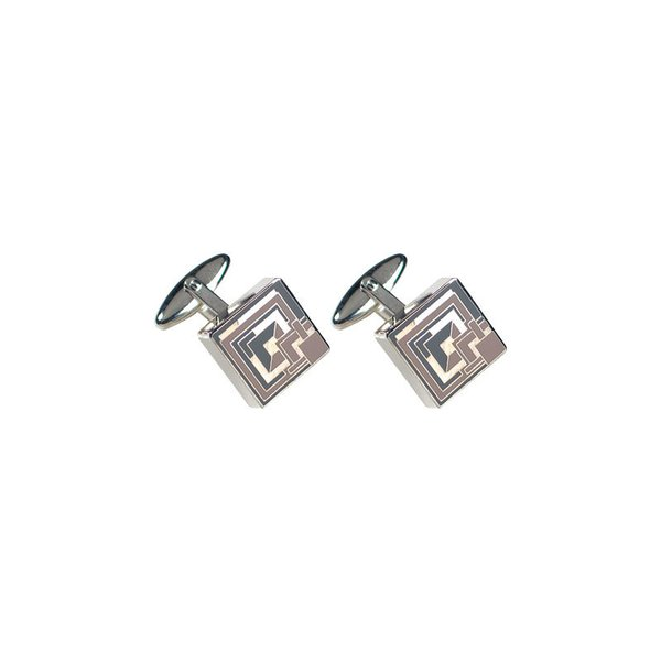 Frank Lloyd Wright Ennis House Cufflinks
