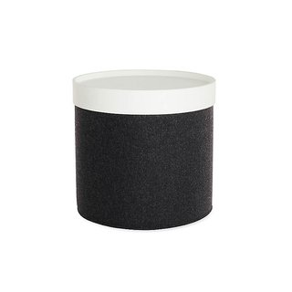Softline Drum Pouf Tray - High