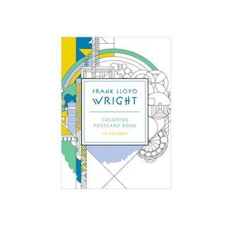 Frank Lloyd Wright Coloring Postcard Book