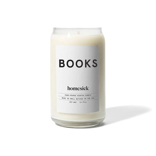 Homesick Books Scented Candle