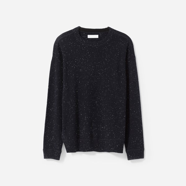 Everlane Men's Heavyweight Cashmere Crew