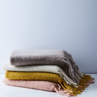 Hawkins New York Simple Mohair Throw