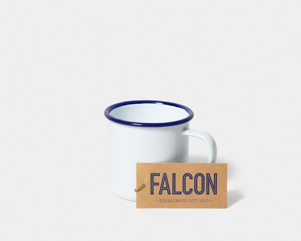Falcon Enamelware Mug Set in White