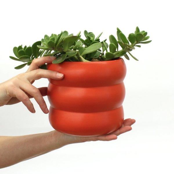 Corbé Homesteader Medium Planter in Poppy