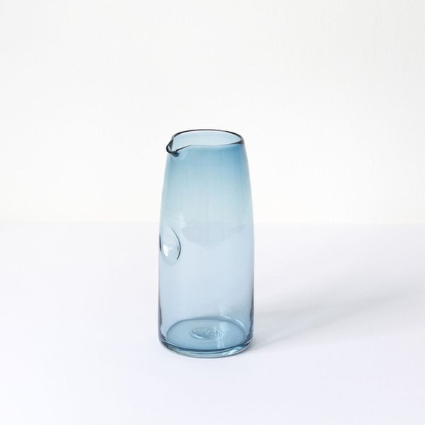 The Shelter Collection Blue Water Pitcher