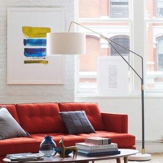 West Elm Mid-Century Overarching Floor Lamp
