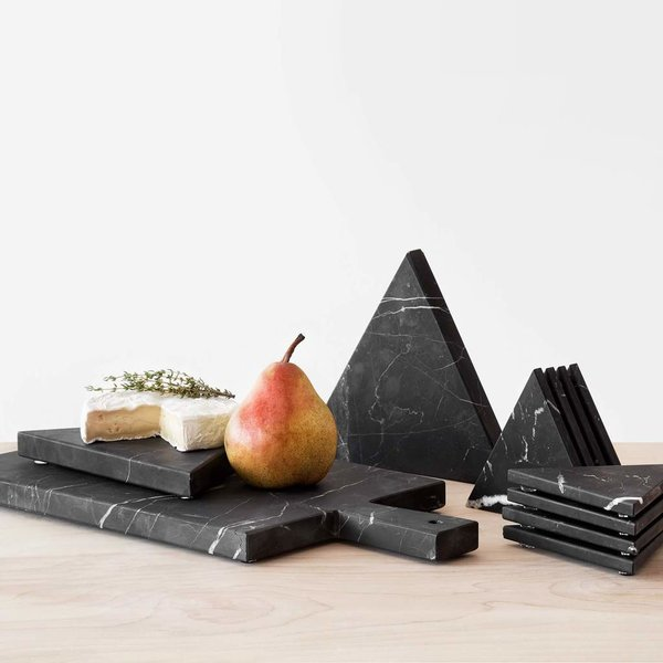 The Citizenry Puebla Marble Serving Board