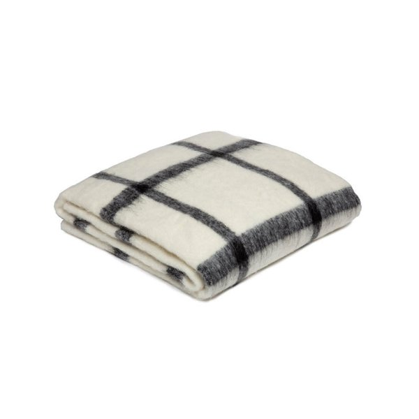 Parachute Windowpane Alpaca Throw