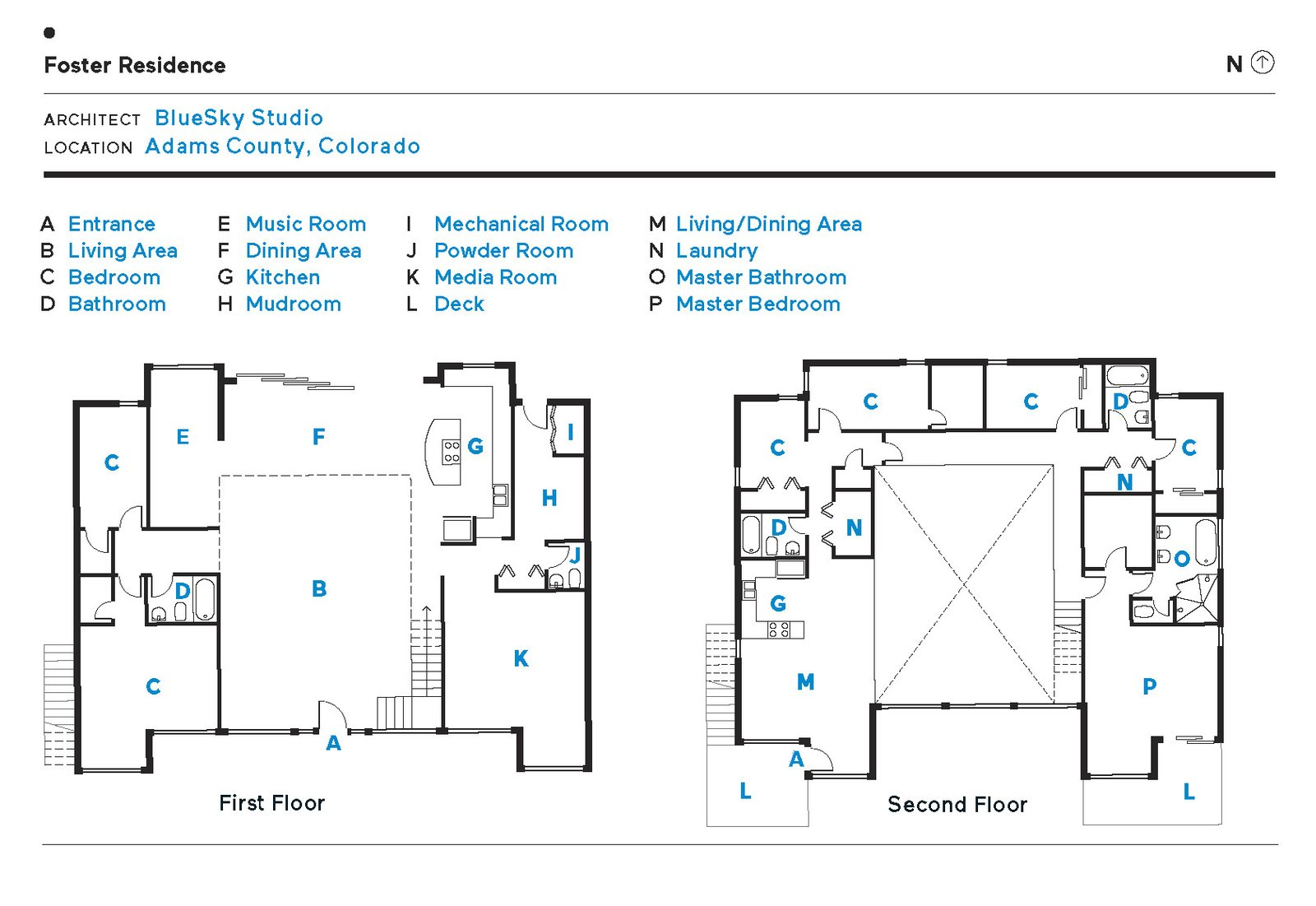 Foster Residence floor plan.  Photo 13 of 13 in A Colorado Firefighter Built His Own Shipping Container Home, and Found a New Calling Along the Way