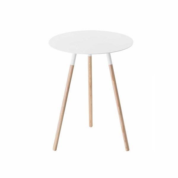 Yamazaki Home Simple Side Table in White