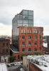 Modern home with Exterior and Brick Siding Material. Photo 13 of Wythe Hotel