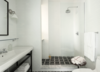 Modern home with Bath Room, Drop In Sink, Two Piece Toilet, Wall Lighting, and Open Shower. Photo 8 of Wythe Hotel