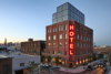 Modern home with Exterior and Brick Siding Material. Photo 7 of Wythe Hotel