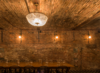 Modern home with Dining Room, Chair, Pendant Lighting, Table, and Wall Lighting. Photo 9 of Wythe Hotel