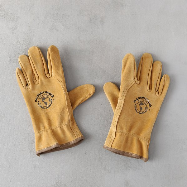 Womanswork Leather Work Gloves