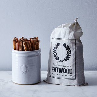 Farmhouse Pottery Laurel Crock & Fatwood Fire Starter