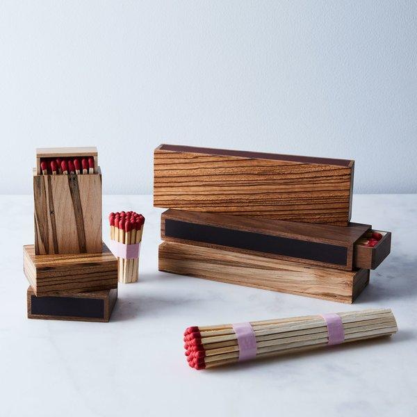 Glaze Wooden Matchbox
