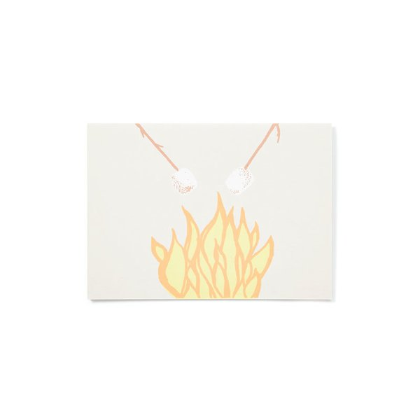 Gold Teeth Brooklyn Camp Fire Card