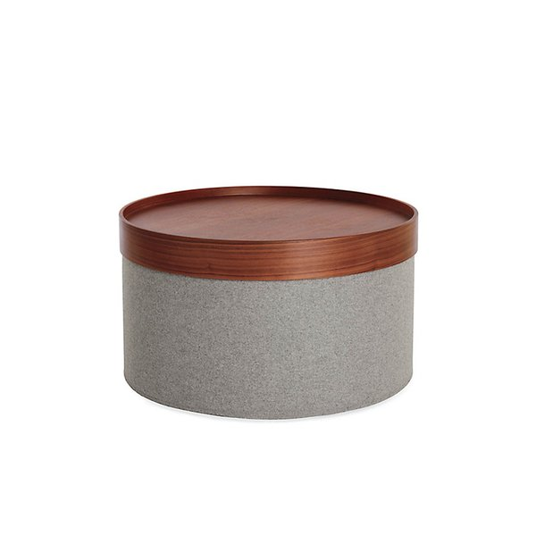 Design Within Reach Drum Pouf Tray - Wide