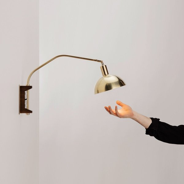 Allied Maker Crescent Wall Lamp