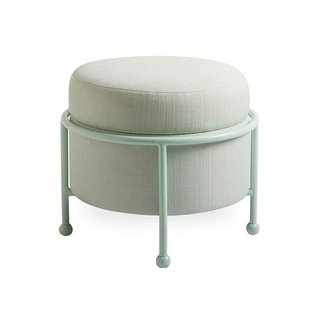 Now House by Jonathan Adler Loop Upholstered Storage Ottoman, Cannes Pool