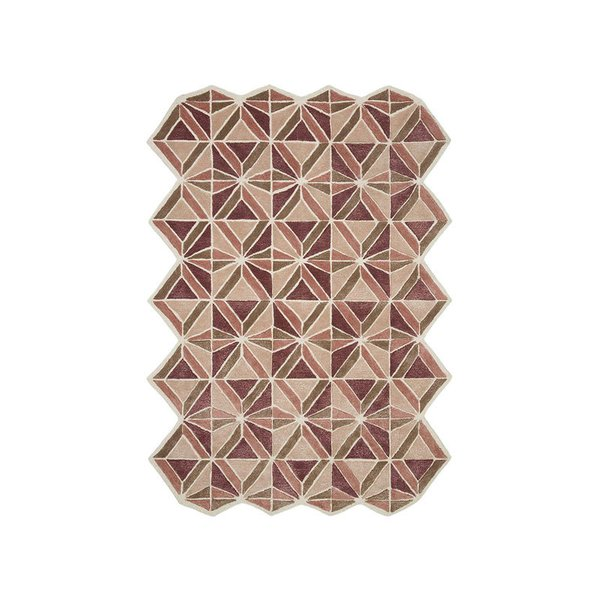 Now House by Jonathan Adler Facet Collection Area Rug, Blush