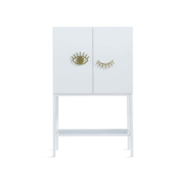 Now House by Jonathan Adler Eye-Con Bar Cabinet