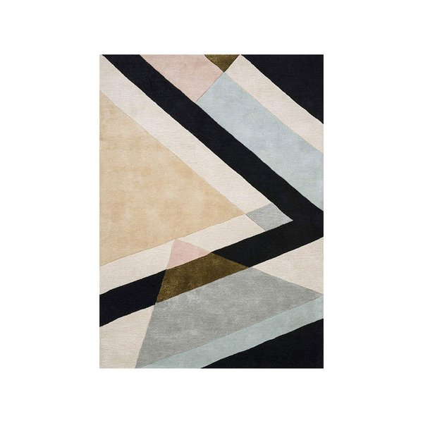 Now House by Jonathan Adler Milan Collection Area Rug, Multicolored