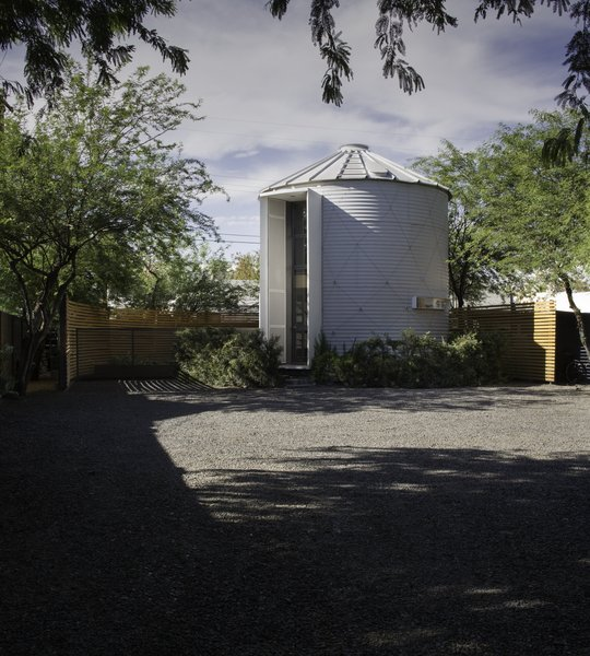 An Old Grain Silo Makes an Enchanting Tiny Home in Phoenix