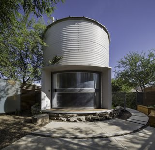 An Old Grain Silo Makes an Enchanting Tiny Home in Phoenix - Photo 1 of 9 -