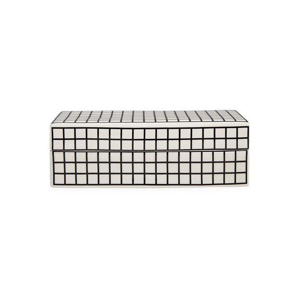 Now House by Jonathan Adler Grid Decorative Box