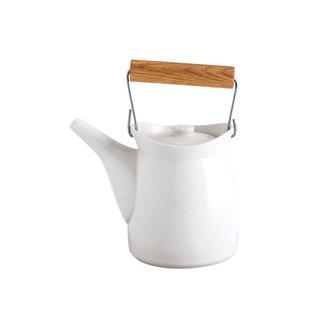 Modern Folk Ware Teapot